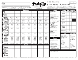 Fax Form Pdf Potbelly Fax Order Form Pdf Free Job Application Form