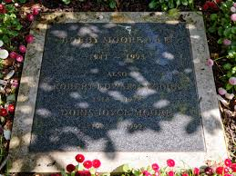 file city of london cemetery bobby moore grave plaque in the memorial gardens