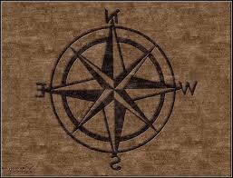 nautical compass area rug