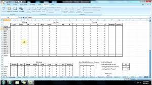 Basketball Stats Excel Template Basketball Statistics Sheet Excel Nfl Player Stats Spreadsheet