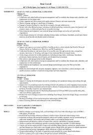 Ux Visual Designer Resume Samples Velvet Jobs