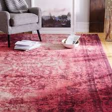 distressed arabesque wool rug shockwave