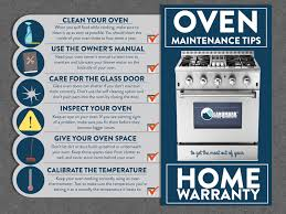 use these tips to properly maintain your oven to get the most use out of it