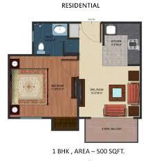 ... Fresh 500 Square Feet Apartment Floor Plan Home Design Very Nice