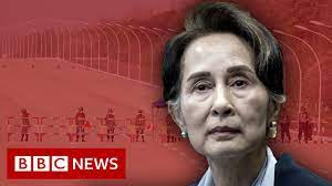Myanmar military seize power, as leader Aung San Suu Kyi detained – BBC News  - YouTube