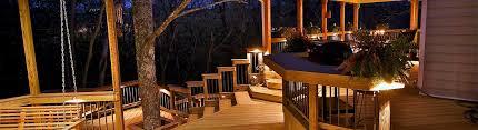 custom lighting by american deck sunroom in lexington louisville ky