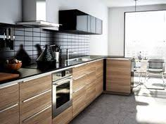 Small Picture Brokhult IKEA kitchen with accented Ringhult White wall cabinets