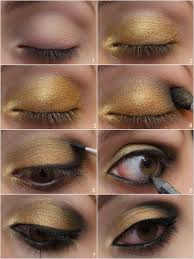 i like to apply a base to even out the colour of my eyelid as they can be rather veiny my cur favourite is the soft ochre paint pot by mac