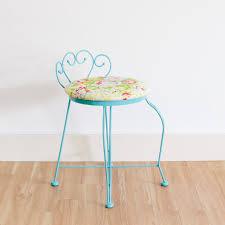 metal vanity stool. Brilliant Metal Peggy Vanity Stool  Propcellar Vintage Rentals  Memphis U0026 The Midsouth Intended Metal I