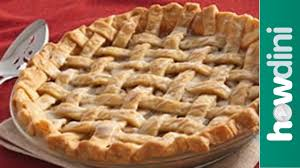 How To Make A Lattice Top Pie Crust Youtube