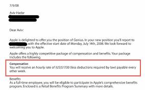 apple genius hourly pay