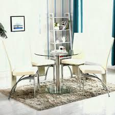 family pc round glass dining table set with photo excellent and chairs argos used for tables