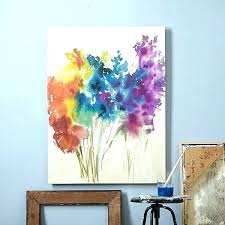 how to paint abstract flowers easy canvas painting ideas for living room canvas painting ideas abstract flowers canvas painting cool and