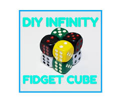 picture of diy infinity fidget cube
