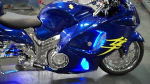 hayabusa for sale allthingschrome 2011 busa blue tricked out