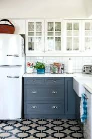 modern white kitchen floor tiles farmhouse kitchen with black and white floor home interior ideas pictures
