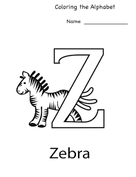 Letter Z Kindergarten Worksheets Simple Loving Printabl ~ Koogra