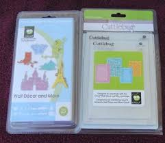 brand new cricut wall decor more 4 coordinating cuttlebug embossing folders