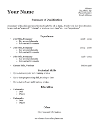 resume outlines resume templates