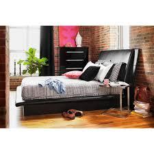 dimora king upholstered bed  black  value city furniture