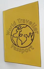 Passport Booklet Template Passport For Kids