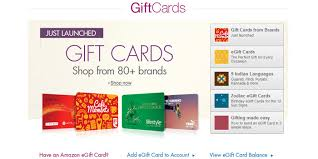 amazon opens multi brand gift cards