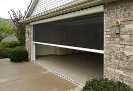 garage doors offers three types of garage screens