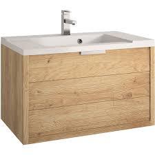 Allibert Bathroom Cabinets Allibert Badmbel Set Eek A Palermo Eiche Hell 80 Cm 4 Teilig