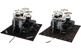 extra large size accommodates most drum setups