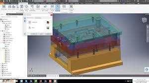 Autodesk Inventor Mold Design Tutorial Mold Design On Inventor Profeesional 2018