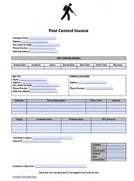 pest control invoice template excel pdf word doc  adobe pdf pdf and microsoft word doc