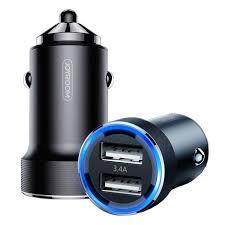 <b>Car charger</b> 3.4A 2x USB JOYROOM Wise Series Dual Port car ...