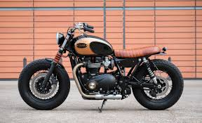 triumph bonneville t120 bobber by baak motocyclettes bikebound