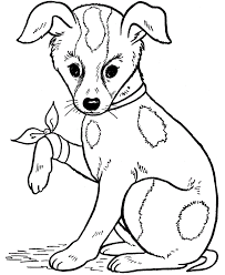 Small Picture Downloads Online Coloring Page Dog Coloring Page 15 On Seasonal