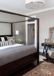 Pottery Barn Farmhouse Canopy Bed - Transitional - Bedroom