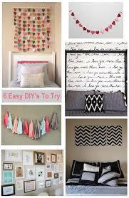 Diy Wall Decor Ideas For Bedroom Unique Decorating Ideas