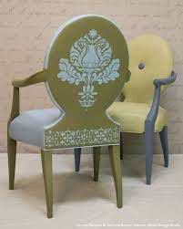 how to stencil tutorial upcycle upholstery chalk paint