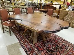 Redwood Dining Table Moose Crossing Burl Gallery