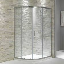 Magnificent Tile Corner Shower For Bathroom Decoration Design : Good  Looking Bathroom Decoration Using Grey Stone