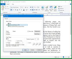 transforming rich text into a pdf the
