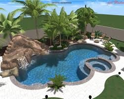 Pool Designs With Rock Slides Fascinating Swimming Pool Designs With Slides Ideas About On