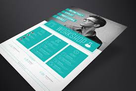 Indesign Flyer Template Corporate Flyer Template Workshop