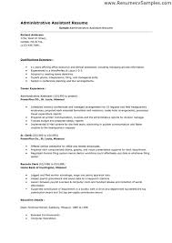cv examples administration jobs - Executive Assistant Resume Samples
