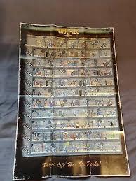 Fallout 4 Vault Tec Perks Chart Poster 1 70 Picclick Uk