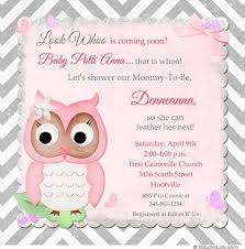 Baby Shower Invitations Words