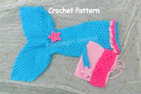 Crochet Mermaid Tail Pattern Free Cool Mermaid Costume 48 Piece Set With Open Tail Mermaid