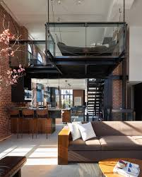 Nyc Penthouses For Parties Penthouse Loft Built In Converted Water Tower In Nyc Designed By