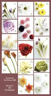 diffe types of flowers for weddings wedding flowers