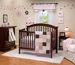 baby nursery girl bedroom pink and blue
