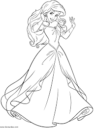 Coloring Pages Free Printable Princessiel Coloring Pagesfree